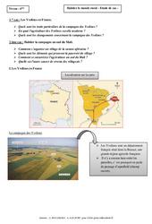 Habiter le monde rural - Etudes de cas - Géographie : 6eme Primaire