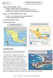 Habiter les littoraux - Etude de cas - Géographie : 6eme Primaire