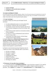 Mobilités humaines - La Tunisie - Etude de cas - Géographie : 2eme Secondaire
