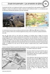 Pyramides de Gizeh - Lecture documentaire - Egypte au IIIe millénaire : 6eme Primaire