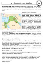 Mésopotamie et ses cités - états - Exercices corrigés - Orient Ancien : 6eme Primaire