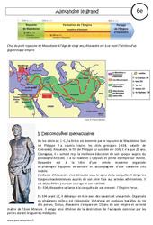 Alexandre le grand - Cours - Civilisation grecque : 6eme Primaire