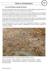 Rome et la romanisation - Cours - Rome : 6eme Primaire