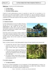 La France intégrée dans l'union européenne - Etude de cas - Géographie : 3eme Secondaire