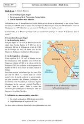 L'île de la Réunion - La France, une influence mondiale - Etude de cas : 3eme Secondaire